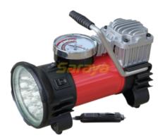 COMPRESOR 12V C/LUZ LED 35LTS/MIN C/BOLSO