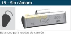 CONTRAPESO CAMION S/CAMARA 150GRS. SOLMI