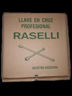 LLAVE CRUZ (ESPECIAL) 3 BOCAS C/ENC. 1/2″ – RASELLI